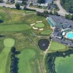 The Pawtucket Country Club, which is divided by the Rhode Island-Massachusetts border.