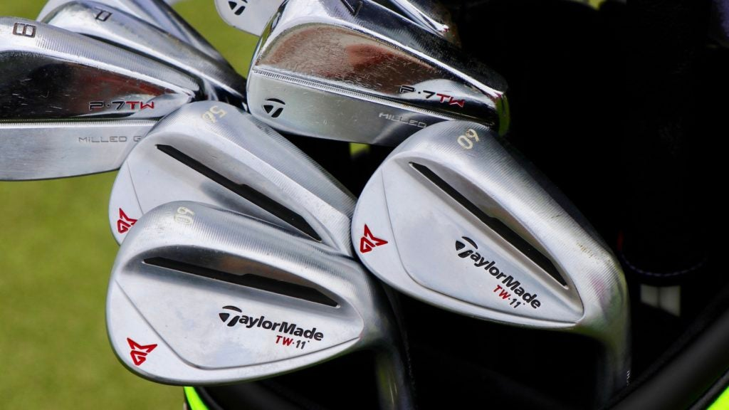 tiger woods taylormade wedges