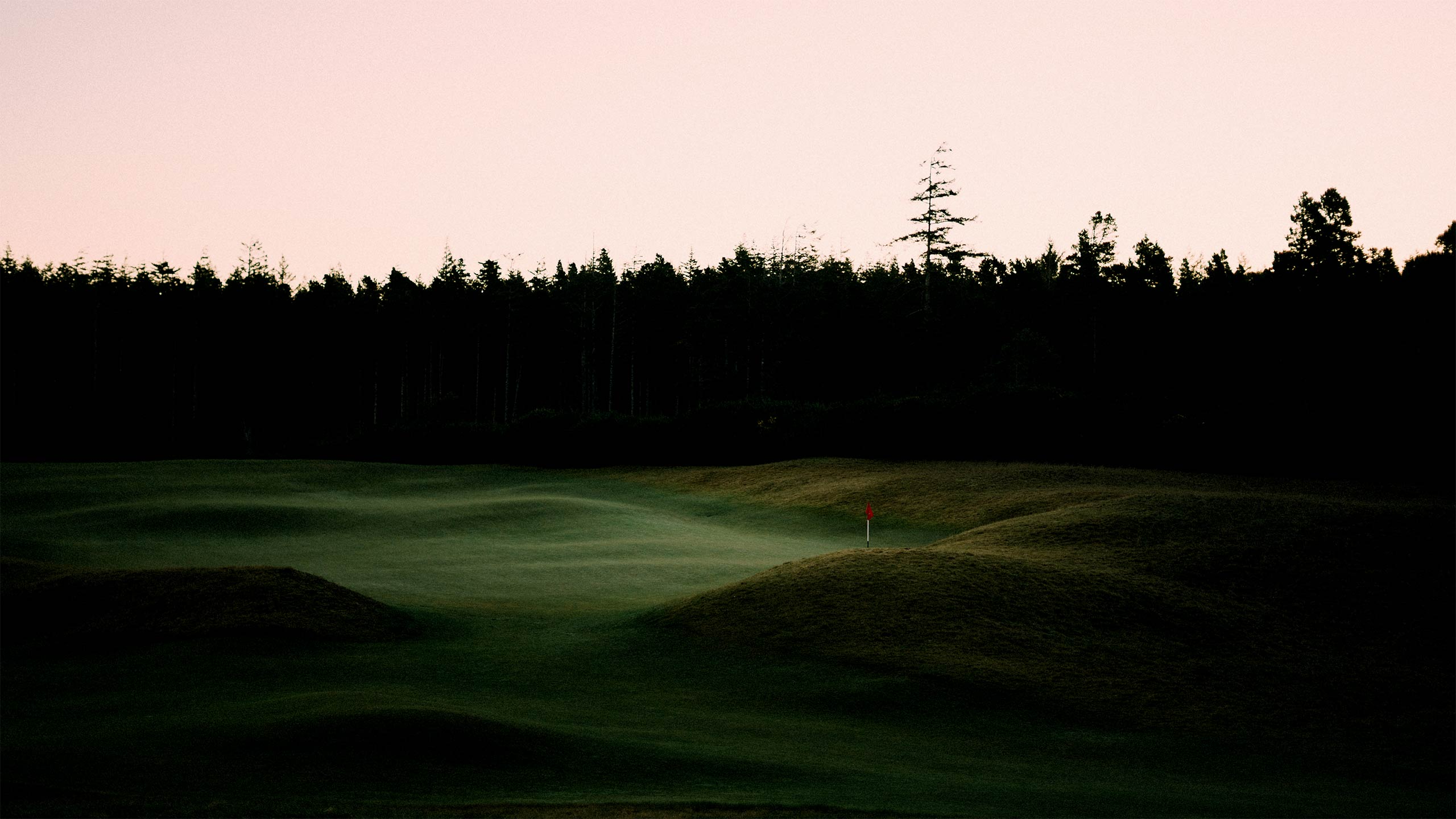 A green at Old Macdonald at Bandon Dunes.