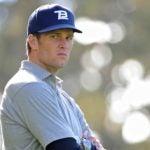 tom brady on golf course