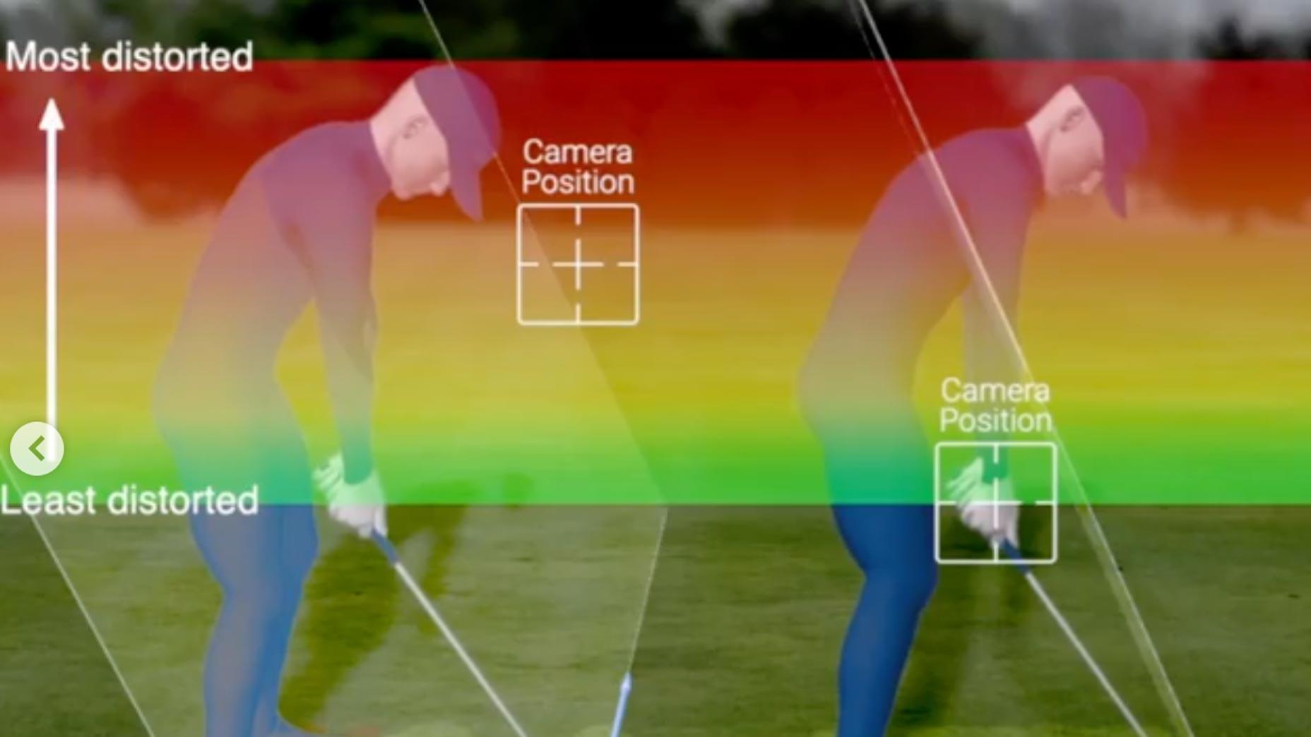 correct camera position example