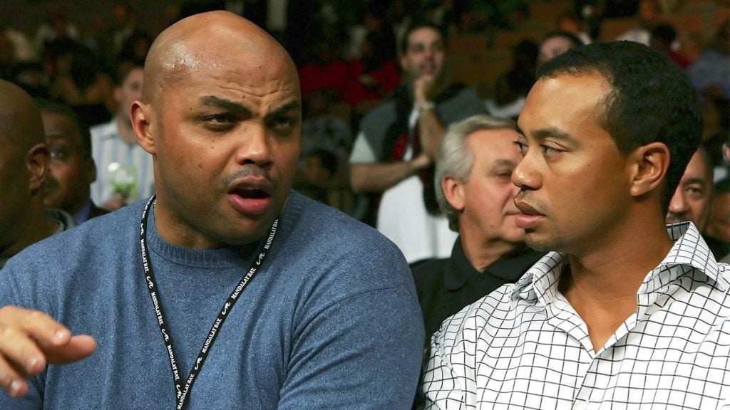 Charles Barkley was a big Tiger Woods fan before they even met.