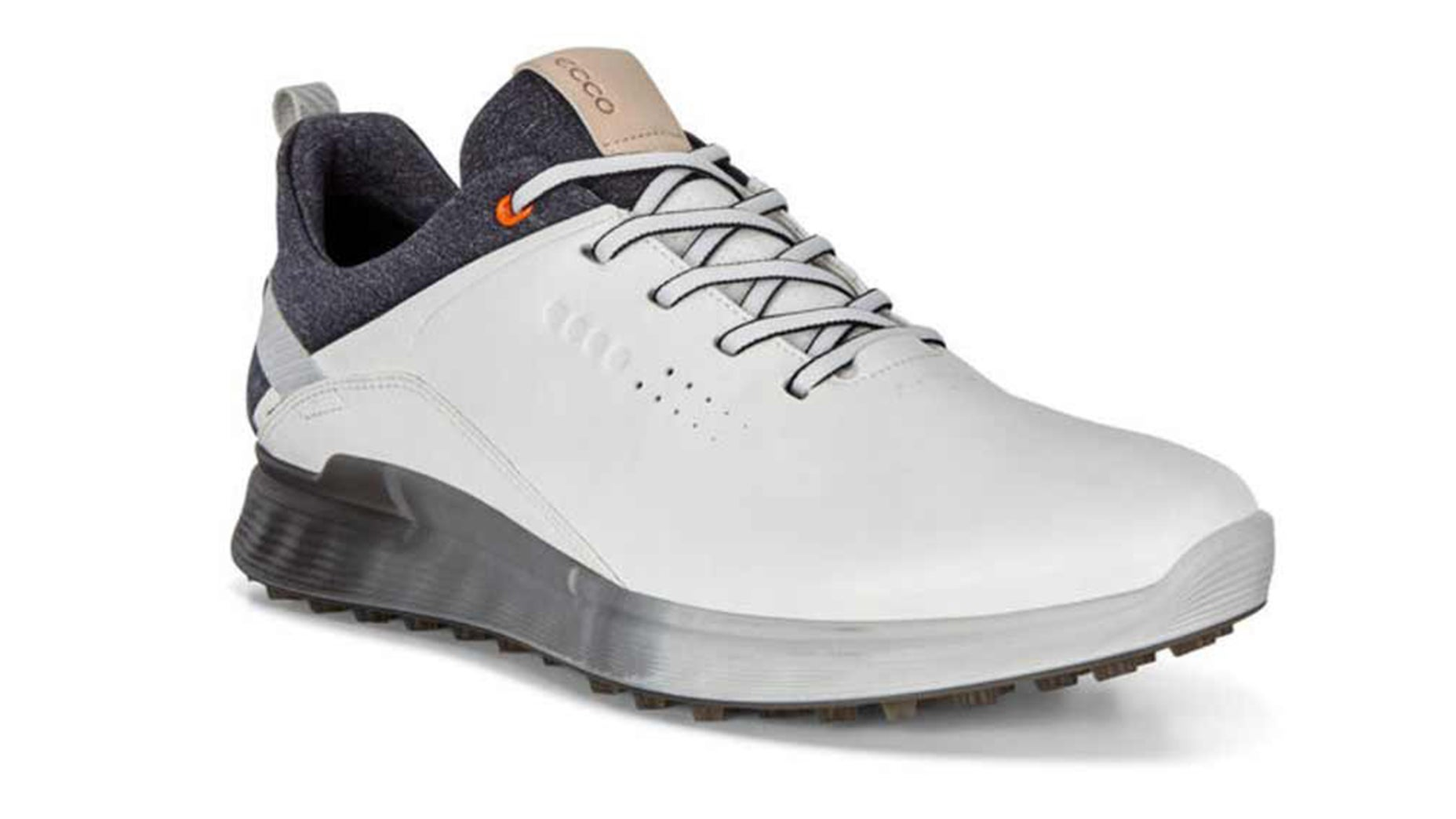 The S-Three golf shoe uses proprietary technology to provide premium support, traction and comfort to all golfers without sacrificing style.