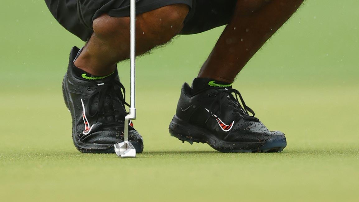 Frank' golf shoes at Match II