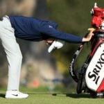 golfer stretches