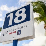 korn ferry tour signage