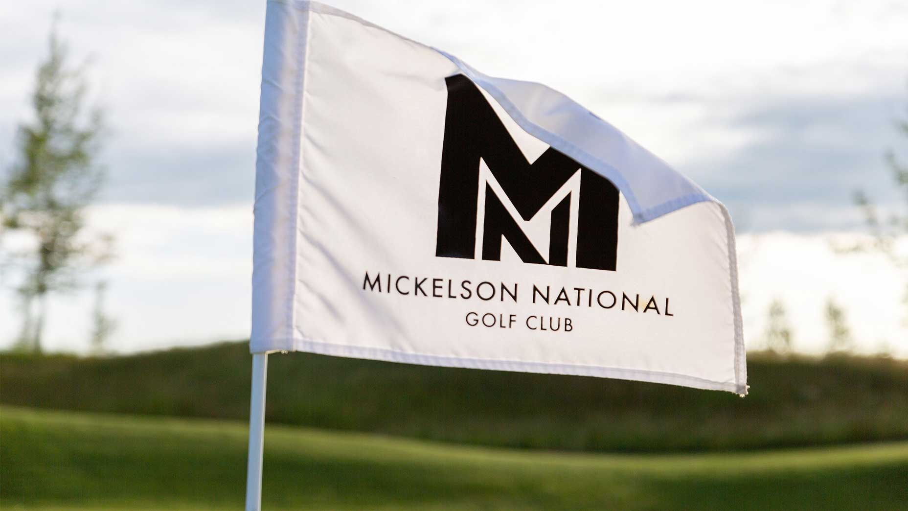Mickelson National Flag