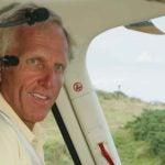 greg norman in helicopter