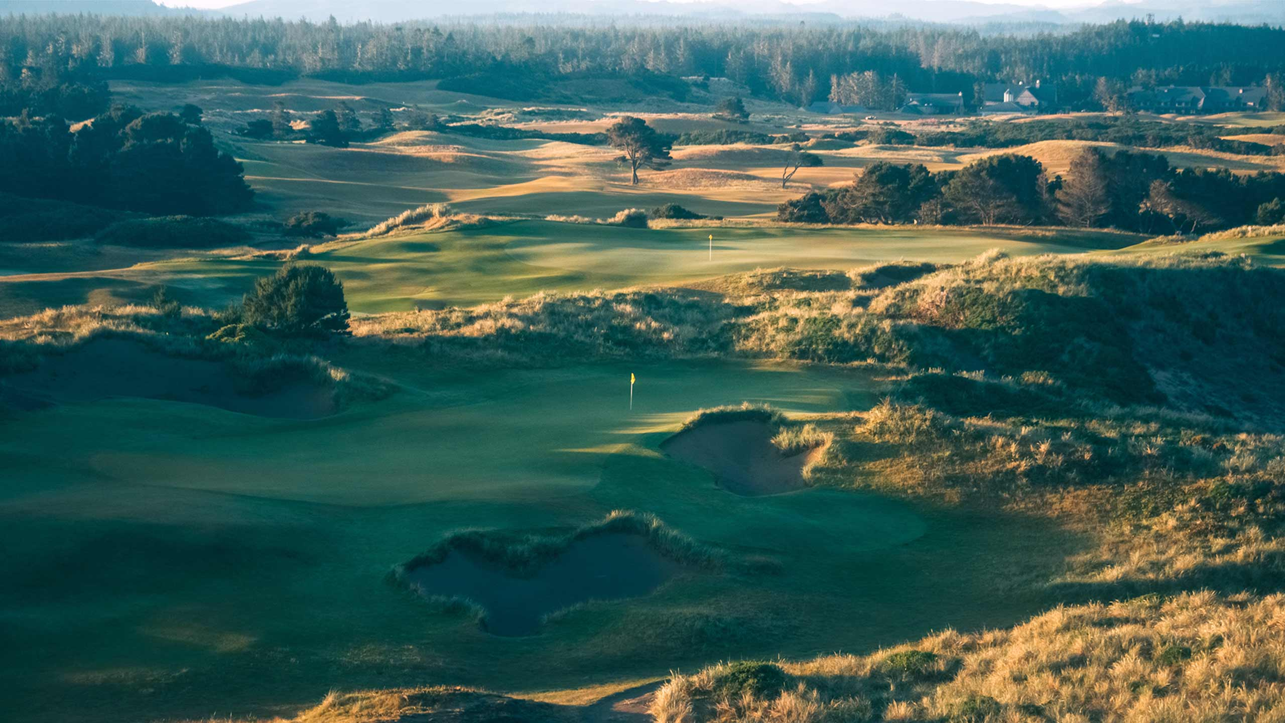 A view of Pacific Dunes in Bandon, Ore.