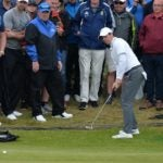 rory mcilroy putts from off the green