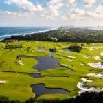 An aerial view of Seminole Golf Club in Florida.