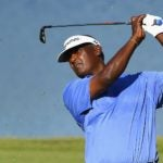 Vijay Singh swings iron