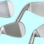 Four golf wedges