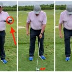 Golf Teacher Mike Adams demonstrates golf tip