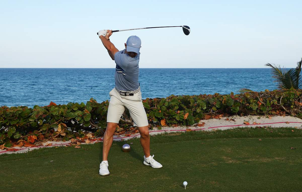 Can making a faster backswing help you hit the ball longer?