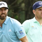 Dustin Johnson and Brendon Todd