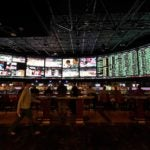 The sportsbook at the Westgate Las Vegas Resort & Casino.