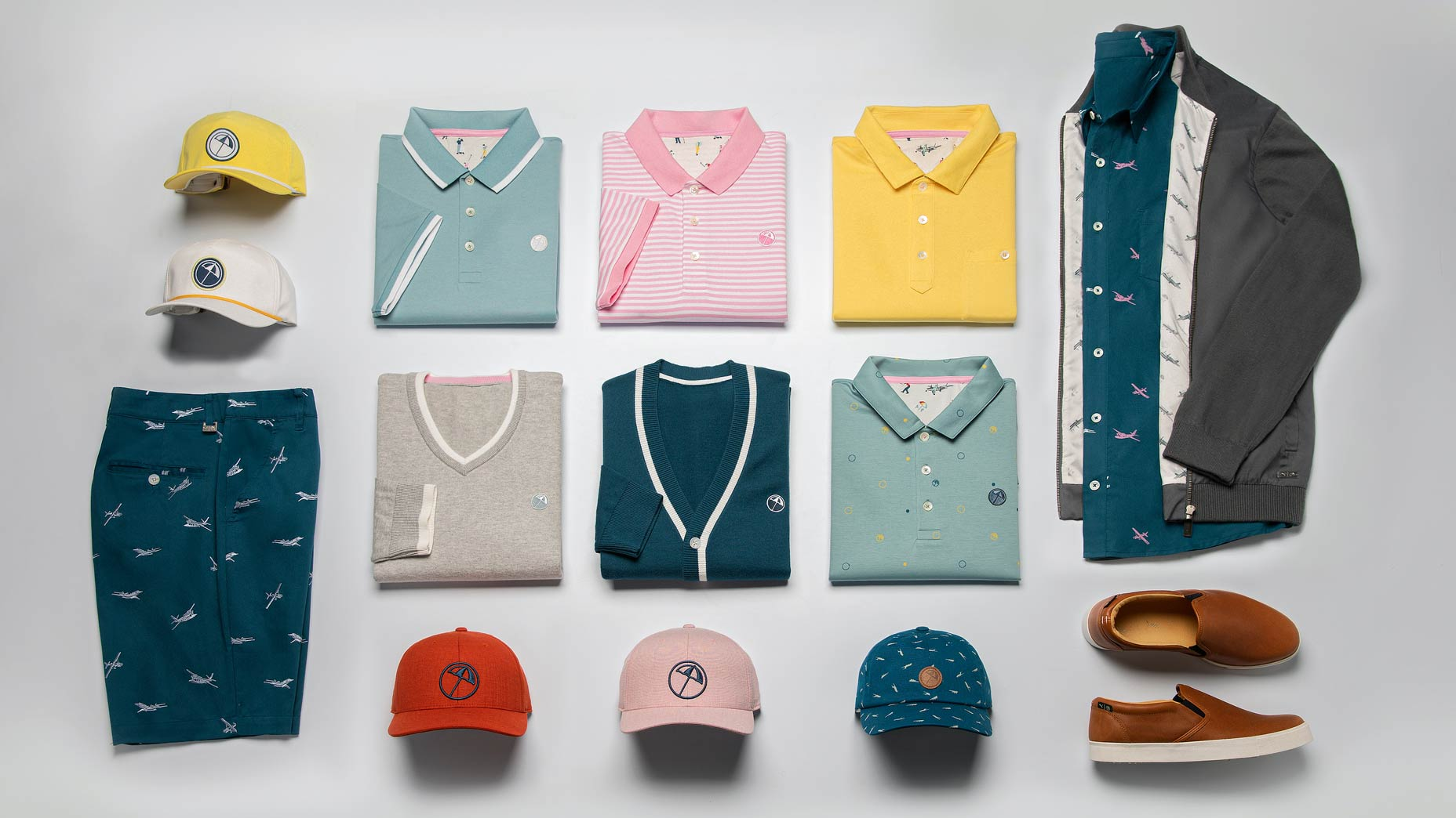 Items in Puma's Arnold Palmer collection