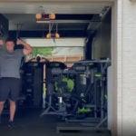 Bryson Dechambeau home gym