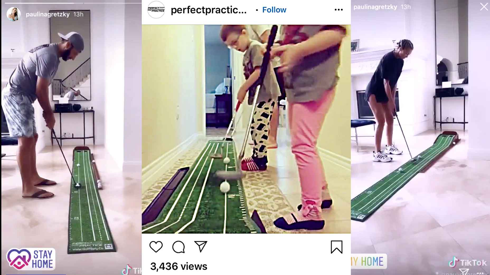 perfect putting mat