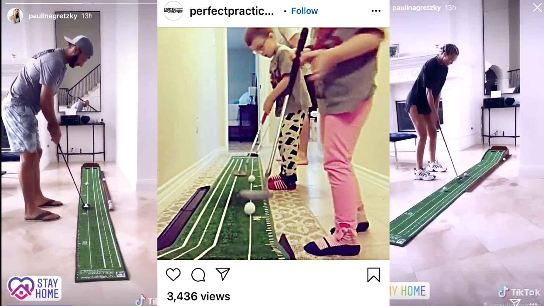perfect putting mat