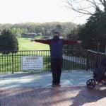 golfers social distance bethpage black