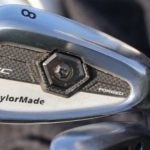 Pro golfer Daniel Berger's iron
