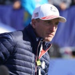 Jim Furyk was the 2018 U.S. Ryder Cup captain.