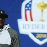michael jordan at the ryder cup