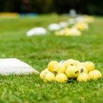 Bucket range balls