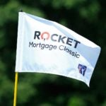 Rocket Mortgage Classic golf tournament flag