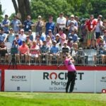 Patrick Reed at 2019 Rocket Mortgage Classic golf tournament