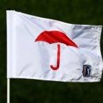 Travelers Championship golf flag