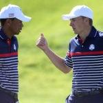 Tiger Woods Jordan Spieth