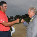 Jon Rahm and Jack Nicklaus