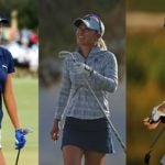 Lexi Thompson, Danielle Kang and Nelly Korda