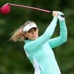 Golfer Olivia Cooke