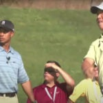 tiger woods anthony kim clinic