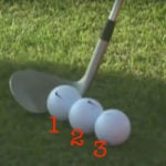 Tiger Woods' ball position drill could simplify your setup.