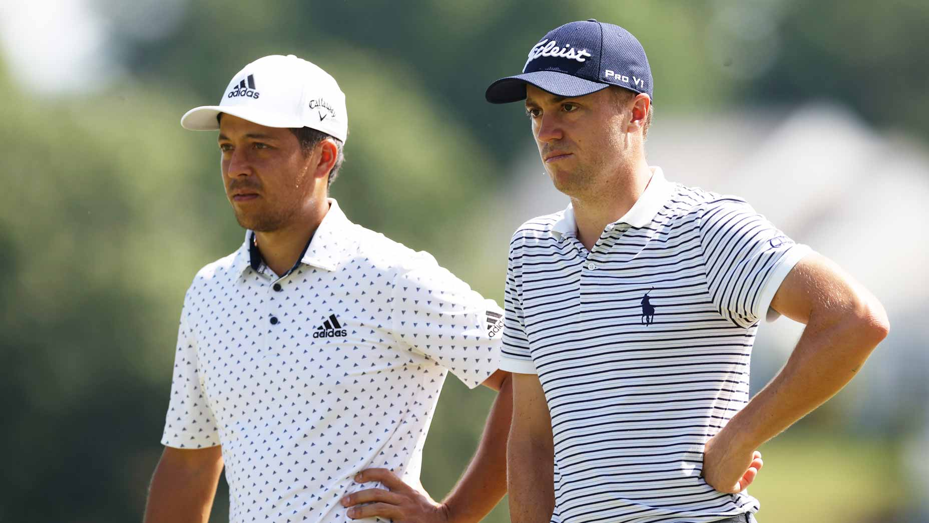 Xabder Schauffele and Justin Thomas