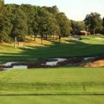 The 5th hole at Bethpage Black.