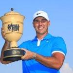 brooks kopeka with trophy
