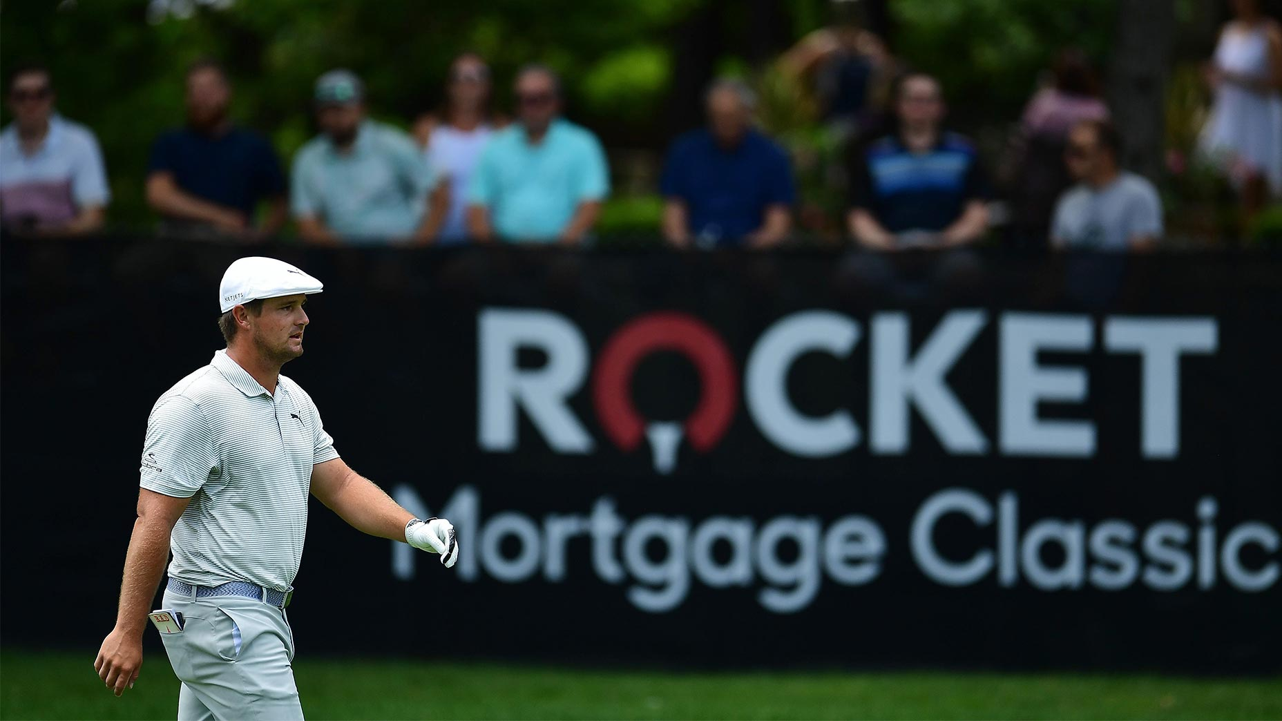 bryson dechambeau walks rocket mortgage classic