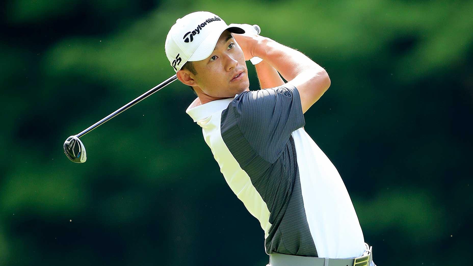 Pro golfer Collin Morikawa