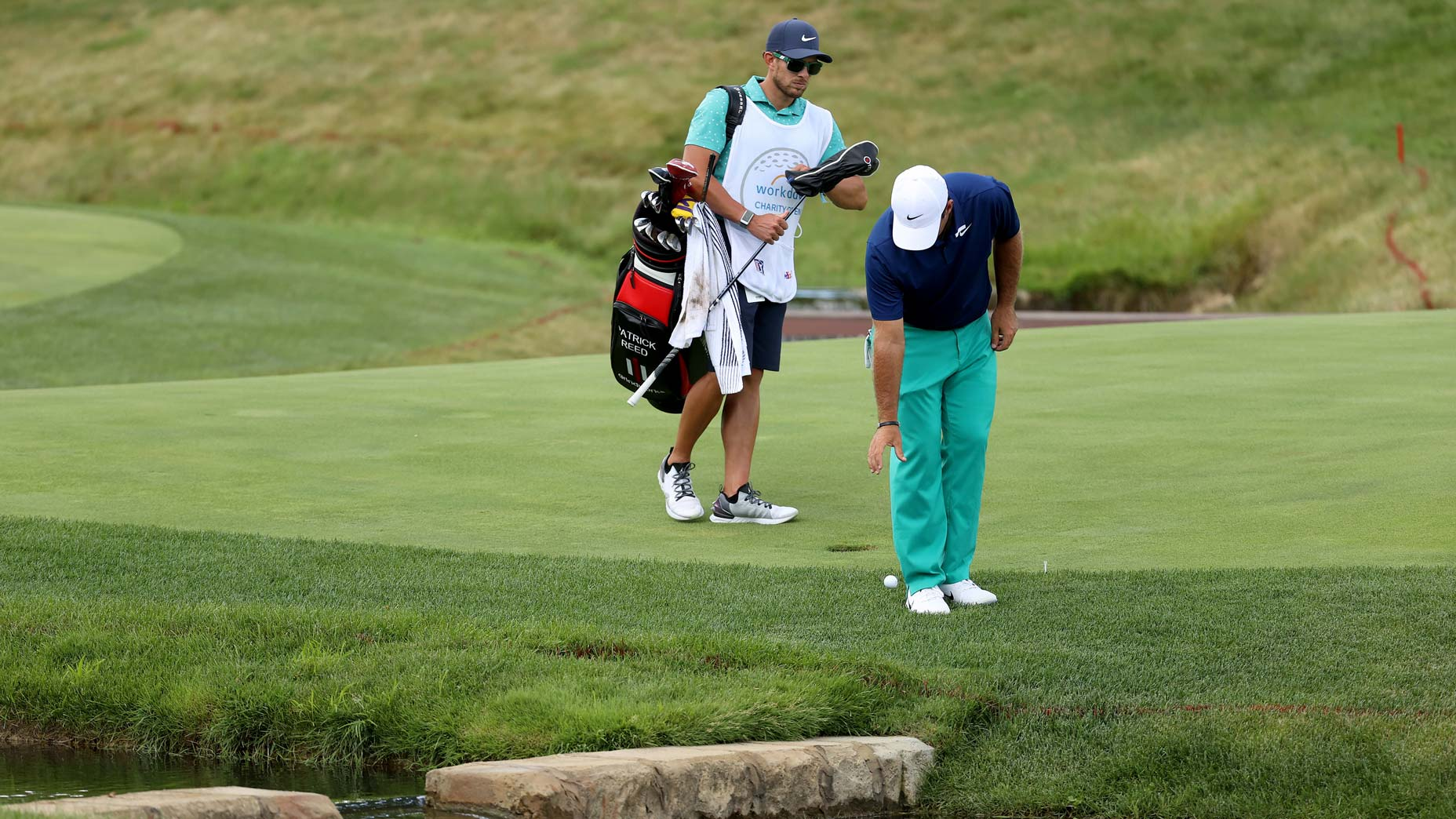 patrick reed takes drop