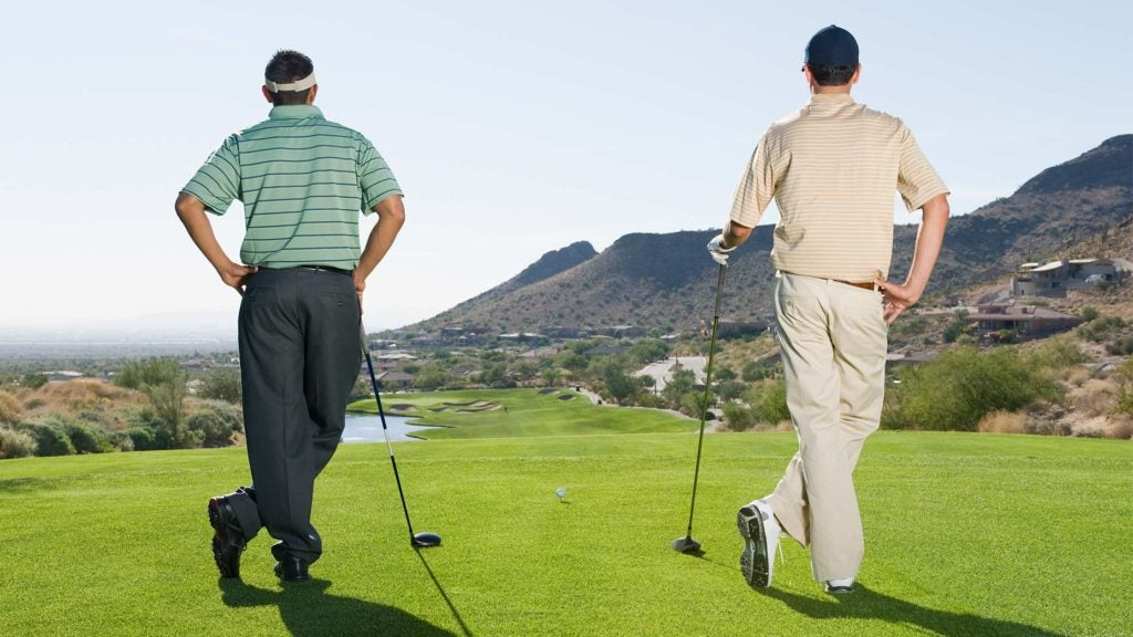 Golf playing partners