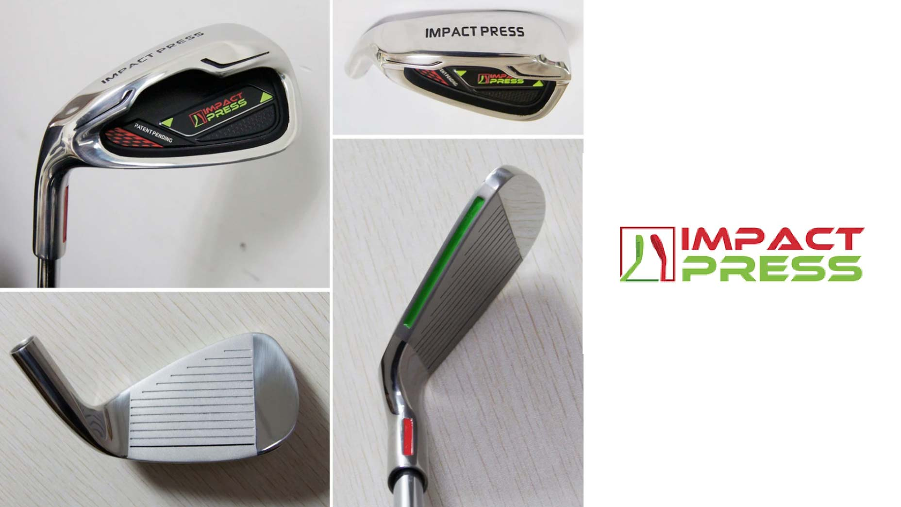 impact press golf product