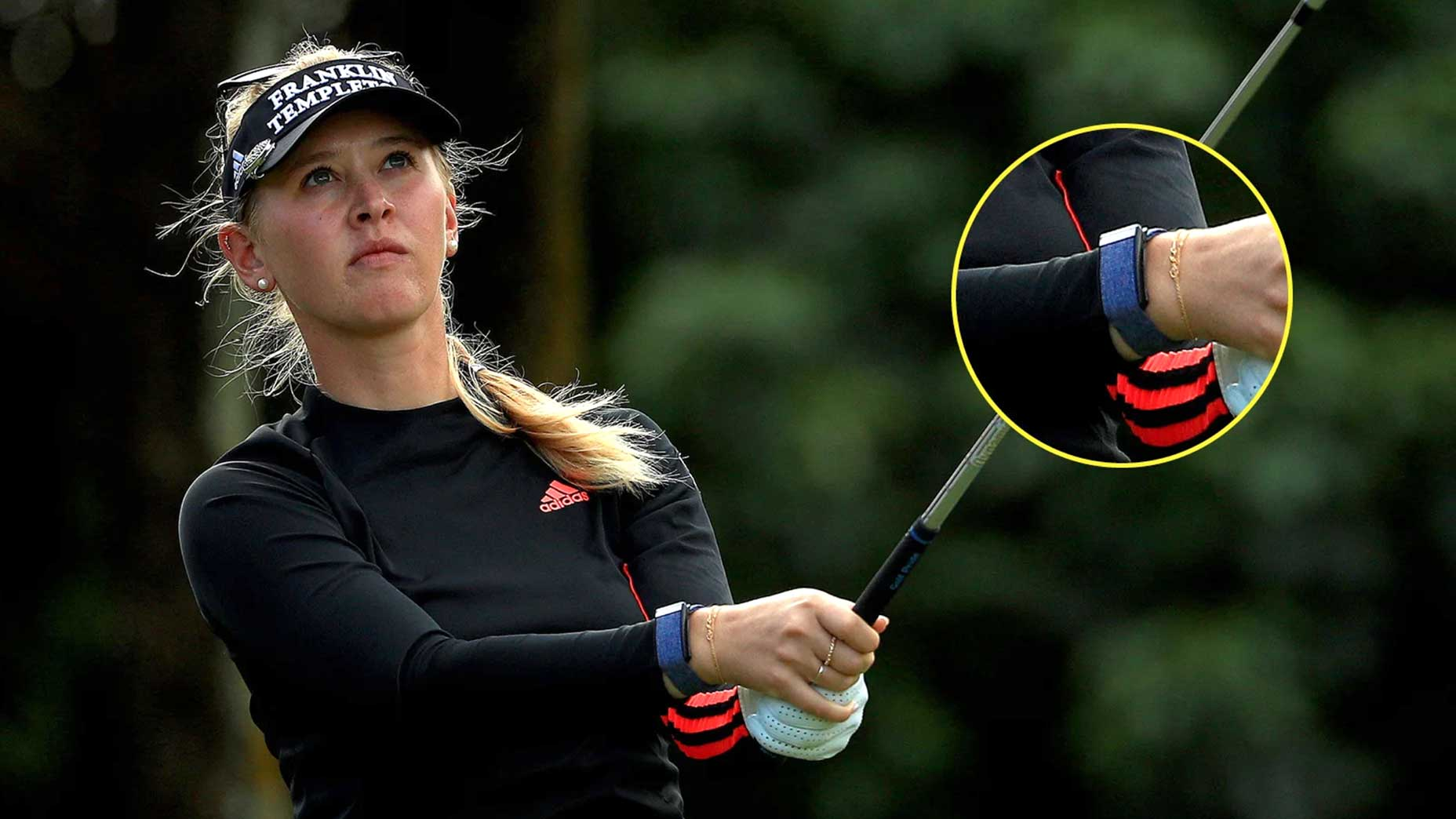 Some LPGA players including Jessica Korda already wear WHOOP straps.
