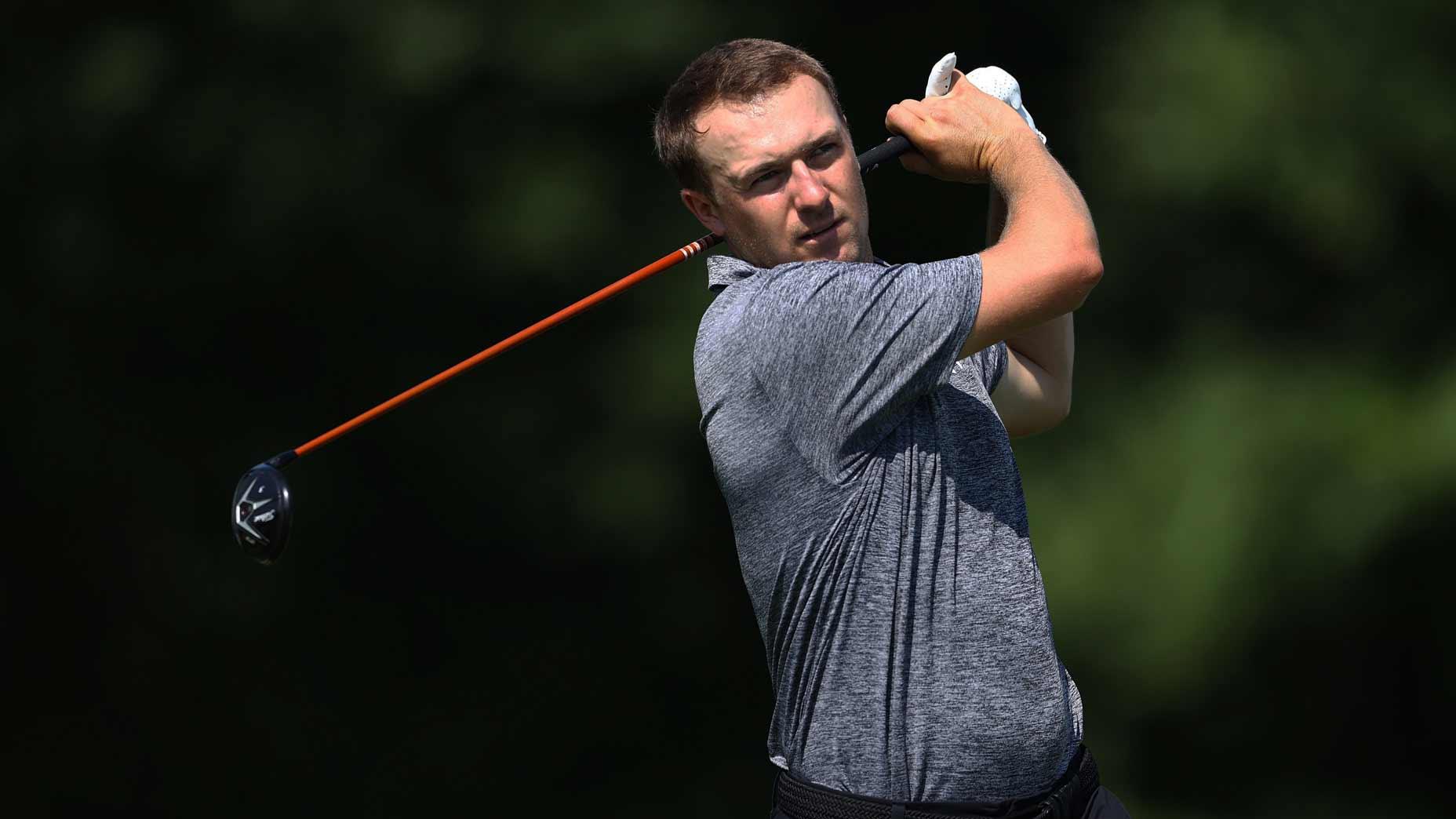 Pro golfer Jordan Spieth