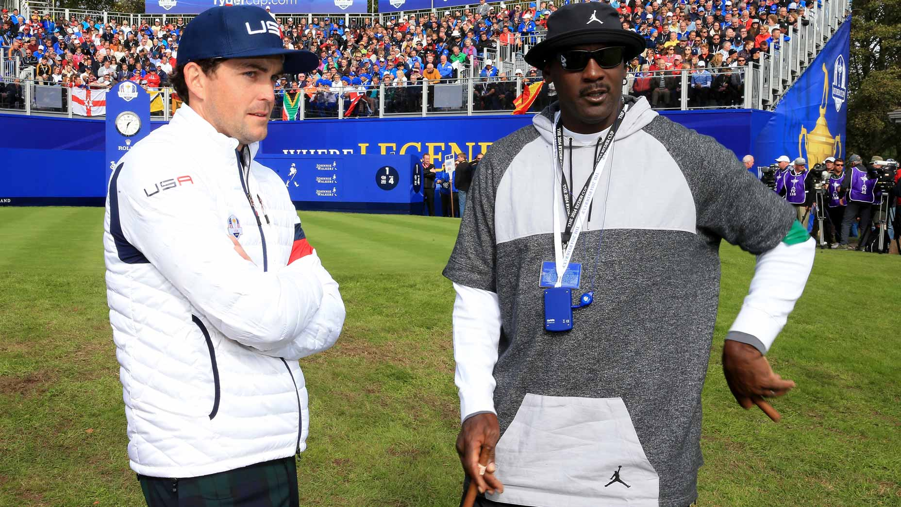 keegan bradley and michael jordan